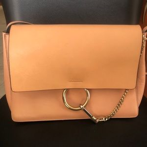 CHLOE - Authentic Faye Medium Leather Bag
